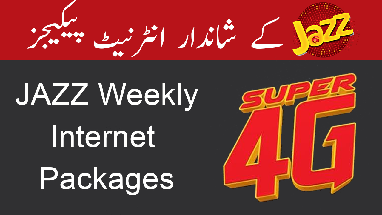 Jazz-Weekly-Internet-Packages