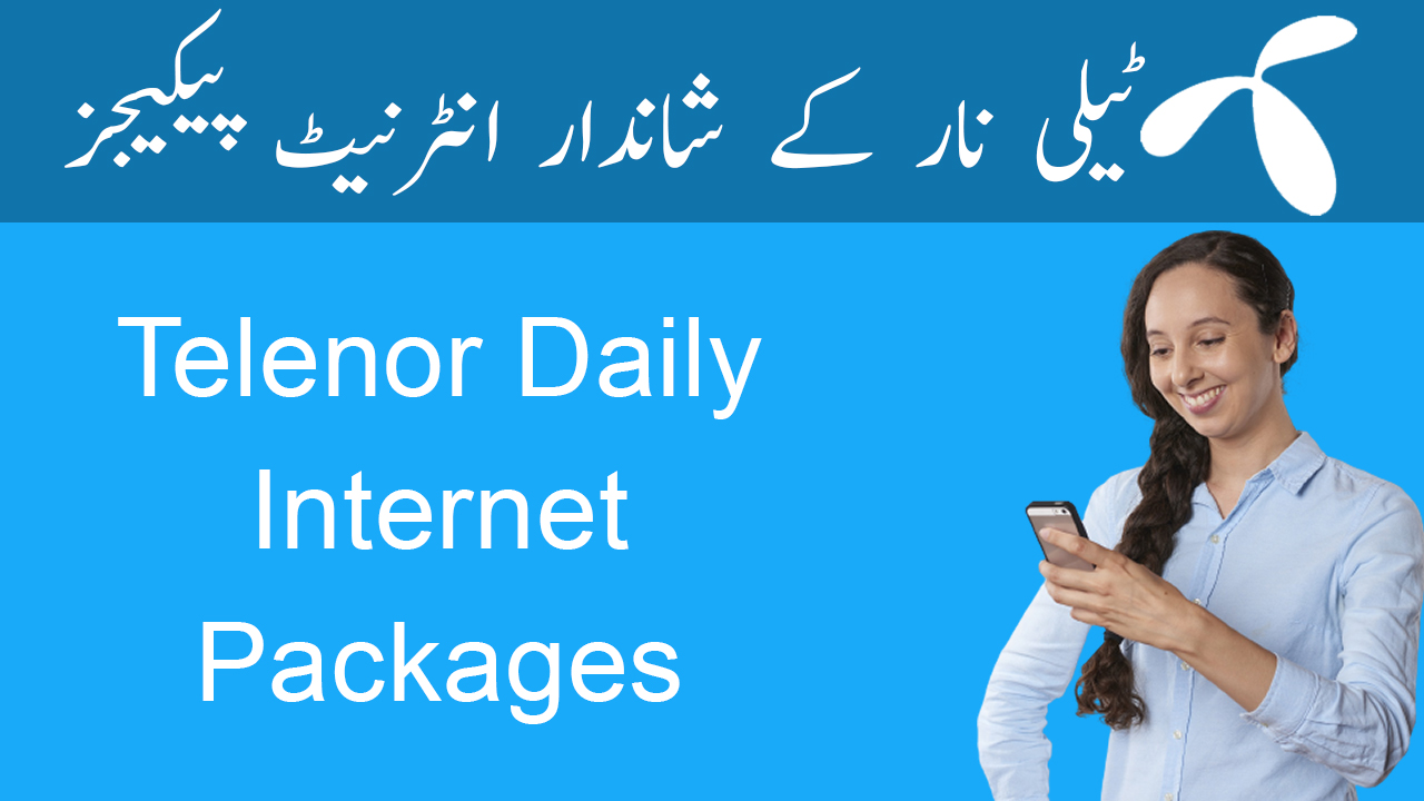 Telenor-Daily-Internet-Packages