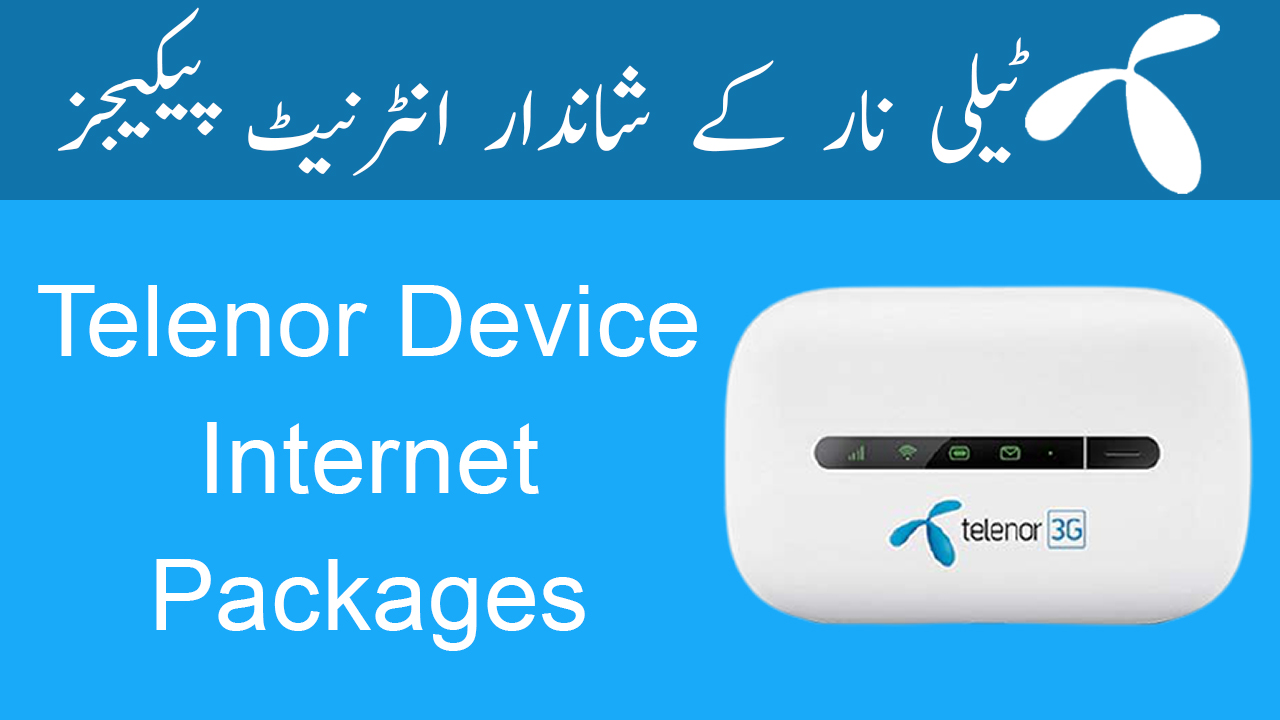 Telenor-Device-Internet-Packages