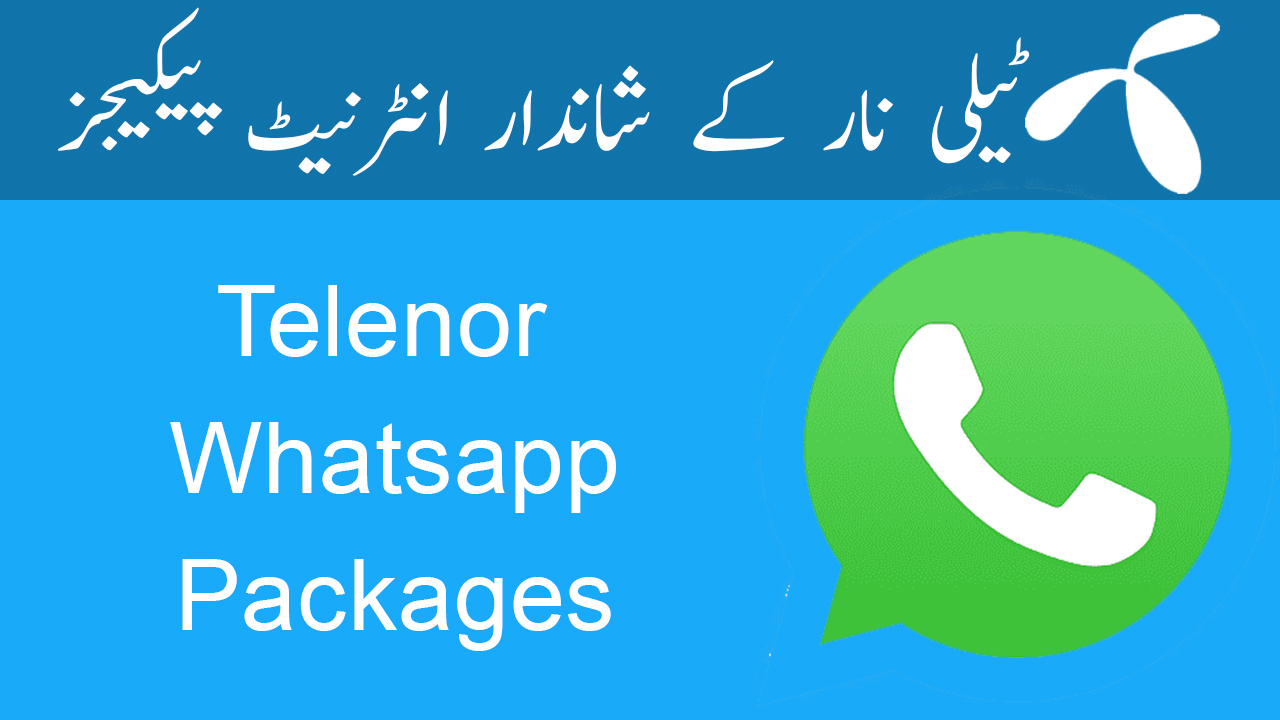 Telenor-Whatsapp-Packages