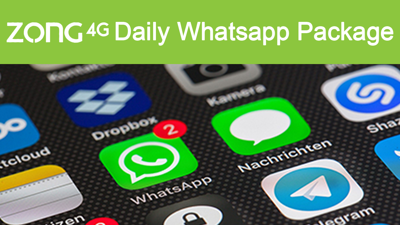 Zong-Daily-Whatsapp-Package