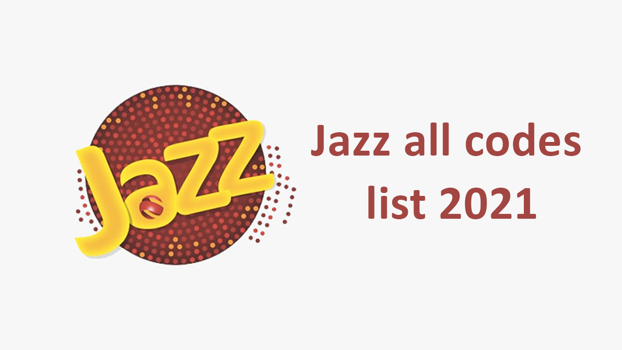 Jazz-all-codes-list-2021